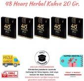 48 Hours Herbal Coffee Cinsel Kahve 5 Adet Tek İçimlik Kahve 20gr