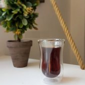 çift Cidarlı Çay Bardağı,tatlı Bardağı,magnolya Cup,magnolıa Bardağı,çift Katlı Çay Bardağı