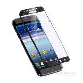 Samsung Galaxy S6 Edge 3D Kavisli Tam Kaplayan Kırılmaz Cam Ekran-4