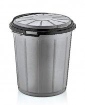 Dünya Ultima Yuvarlak Çöp Kovası 70 Lt