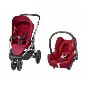 Maxi Cosi Mura Plus 3 Travel Sistem Bebek Arabası Robin Red