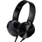 Extra Bass Mikrofonlu Kulaküstü Stereo Kulaklık 3.5mm