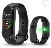 M4 Akıllı Bileklik Saat Watch Band Silikon...