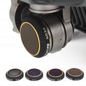 Djı Mavic Pro Lens Hd Optik Cam Filtre 4lü Seti Nd...