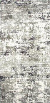 Gri Beyaz Modern Oturma Odası Halısı - HS97070