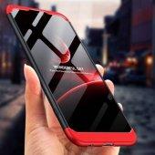 Samsung Galaxy J8 360 Derece 3in1 Koruma Kılıf