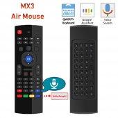Wechip Mx3 Kablosuz Uzaktan Kumanda Air Mouse...