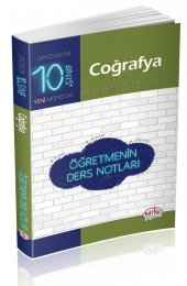 Editör Yayınları 10. Sınıf Coğrafya Öğretmenin Ders Notları