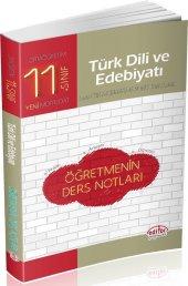 Editör Yayınları 11. Sınıf Türk Dili Ve Edebiyatı Öğretmenin Ders Notları
