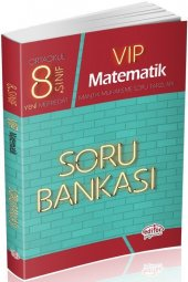 Editör Yayınları 8. Sınıf Vip Matematik Soru Bankası