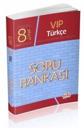 Editör Yayınları 8. Sınıf Vip Türkçe Soru Bankası
