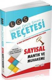 Editör Yayınları LGS Reçetesi Sayısal Mantık ve Muhakeme Angora Serisi