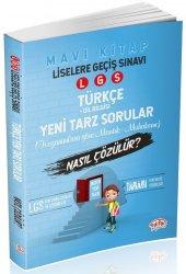 Editör Yayınları Lgs Türkçe Dilbilgisi Mantık Muhakeme Yeni Tarz Sorular Nasıl Çözülür