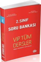 Editör Yayınları 2. Sınıf Tüm Dersler Vıp Soru Bankası Kırmızı Kitap