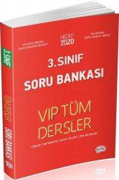 Editör Yayınları 3. Sınıf Tüm Dersler Vıp Soru Bankası Kırmızı Kitap