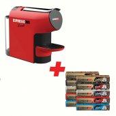 Espressomm Piccolo Kapsül Kahve Makinesi (Kırmızı) Kampanyalı