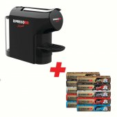 Espressomm Piccolo Kapsül Kahve Makinesi (Siyah) Kampanyalı