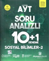 Puan Yayınları Ayt Sosyal Bilimler 2 Soru Analizli...