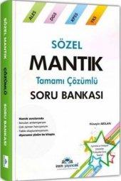 Irem Yayınları Kpss Ales Dgs Yks Sözel Mantık Tamamı Çözümlü Soru Bankası