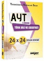İrem Yayınları YKS 2. Oturum AYT Türk Dili ve Edebiyatı 24x24 Özgün Deneme