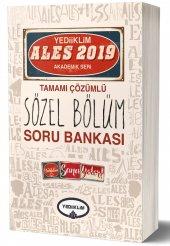 Yediiklim Yayınları 2019 Ales Sözel Bölüm Tamamı Çözümlü Soru Bankası