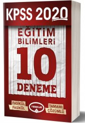 Yediiklim Yayınları 2020 Eğitim Bilimleri...