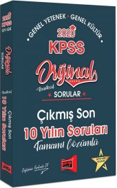 Yargı Yayınları 2020 Kpss Genel Yetenek Genel...
