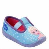 Frozen Elsa Kız Çocuk Panduf Anaokulu Ev Patik Ayakkabı