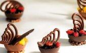 Callebaut Melek Kanadı Sütlü Dekoratif Çikolata 0,65kg