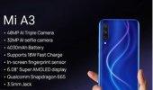Xiaomi Mi A3 64GB Mavi (Xiaomi Türkiye Garantili)-3