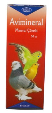 Muhabbet Kuşu Mineral Avimineral Çözelti