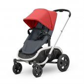 Quinny Hubb Bebek Arabası / Red on Graphite
