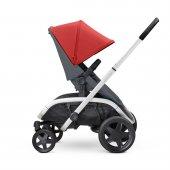 Quinny Hubb Bebek Arabası / Red on Graphite-3