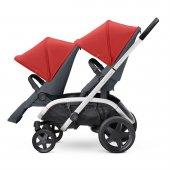 Quinny Hubb Bebek Arabası / Red on Graphite-8