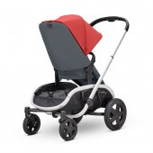 Quinny Hubb Bebek Arabası / Red on Graphite-12