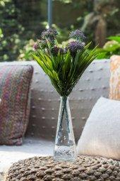Allium Pembe Yapay Çiçek