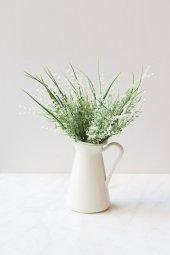 Beyaz Narkissos Yapay Çiçek-2