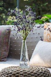 Mor Hezeran Yapay Çiçek