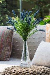 Cote Dazur Mavi Yapay Lavanta (Yapay Çiçek)