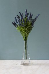 Cote dAzur Mavi Yapay Lavanta ( Yapay Çiçek )-2