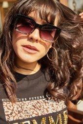Kadın Siyah Güneş Gözlüğü