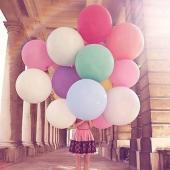 Beyaz Büyük Balon 36 İnc