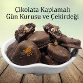 çikolata Kaplamalı Gün Kurusu Ve Çekirdeği 500 Gr