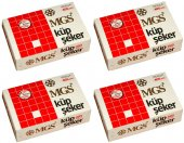 Mgs Küp Şeker 405 Adet 1 Kg (4 Paket)