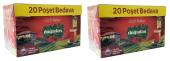 Doğadan Gizli Bahçe Demlik Poşet Çay 120 Adet (2 Paket)