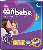 Canbebe Extra Large 6 Numara 24 Adet Bebek Bezi 15+ Kg