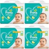 Prima Fırsat Paketi 3 Numara 70*4 280 Adet Bebek Bezi 6 10 Kg