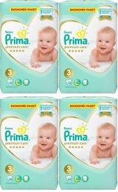 Prima Premium Care 3 Numara 62*4 248 Adet Bebek Bezi 6 10 Kg