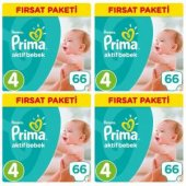 Prima Fırsat Paketi 4 Numara 66*4 264 Adet...