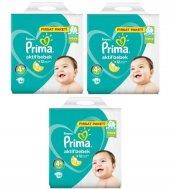 Prima Fırsat Paketi 4+ Numara 54*3 162 Adet Bebek Bezi 10 15 Kg